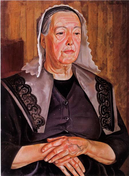 Женщина из Бург де Батц, 1925 (450x615, 84Kb)