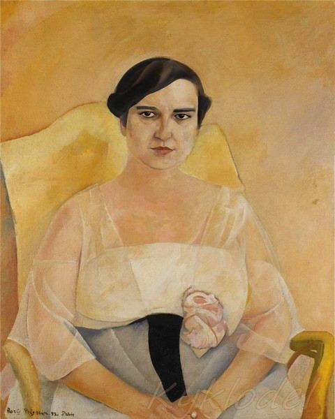 «Женский портрет» 1922 (480x600, 65Kb)
