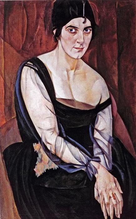 Портрет М.Я.Ясной, 1917 (435x700, 112Kb)
