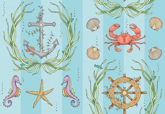 взяв морская открытка рисунок люди