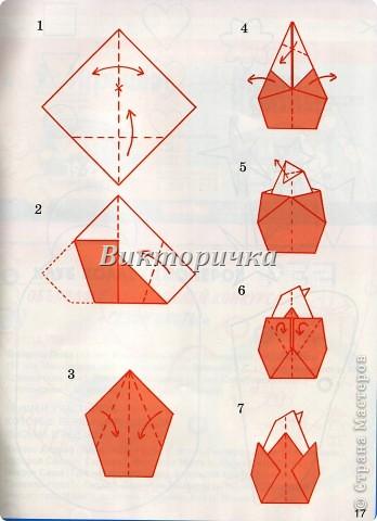 Дню, оригами на открытку яйца