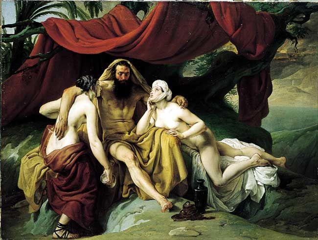 Francesco Hayez 022 - Lot and His Daughters (650x491, 64Kb)