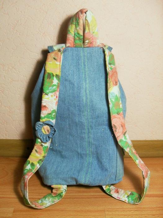 Подробный мастер-класс.  Выкраиваем детали рюкзака (можно...