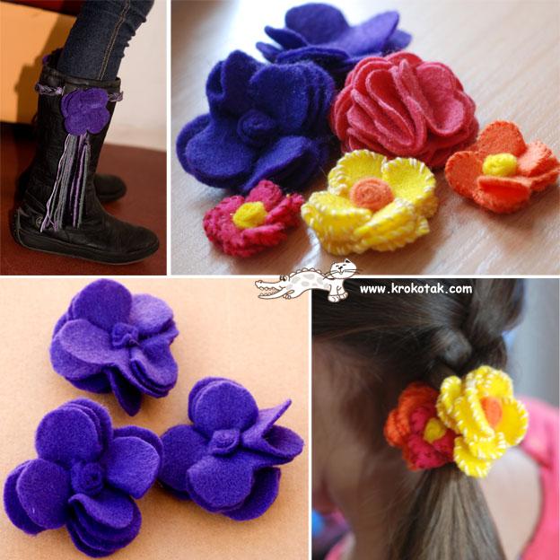 Това са много ефектни и лесни за направа цветя от.