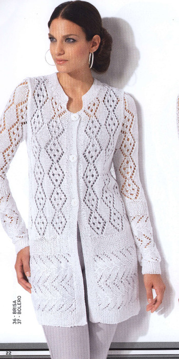 вязание спицами для женщин кофточка записи с меткой вязание
