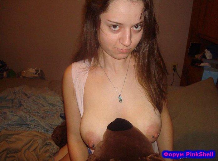 Секс с огромными ореолами сосков видео