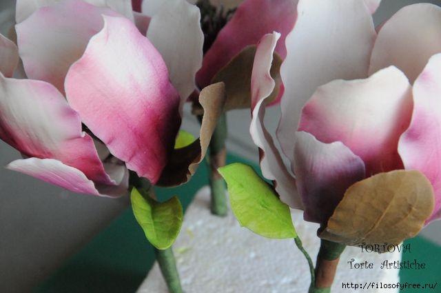 Gumpaste Magnolia Tutorial20 (640x425, 112Kb)