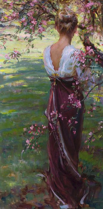 Daniel Gerhartz - Tendril of Spring. (345x700, 55Kb)