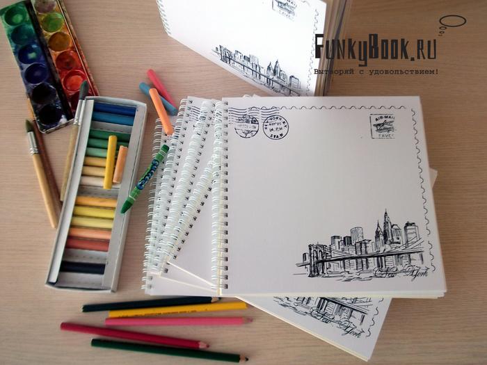 Как сделать из бумаги скетчбук фото 655