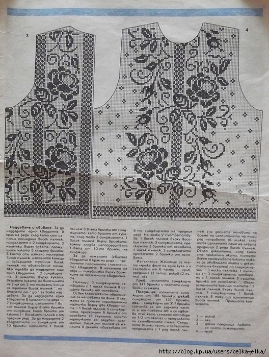 филейное вязание крючком схемы юбок