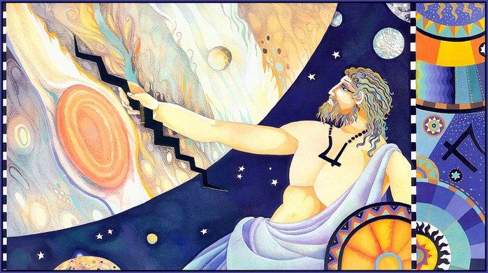Бог неба уран картинки