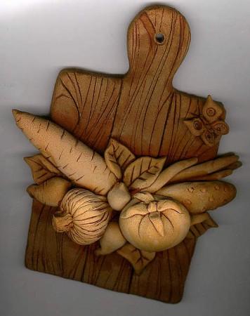 Поделки из солёного теста художницы Ольги Грига.  Девочки.