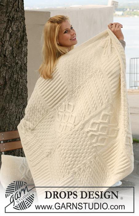 вязание одеяло для малышей схемы