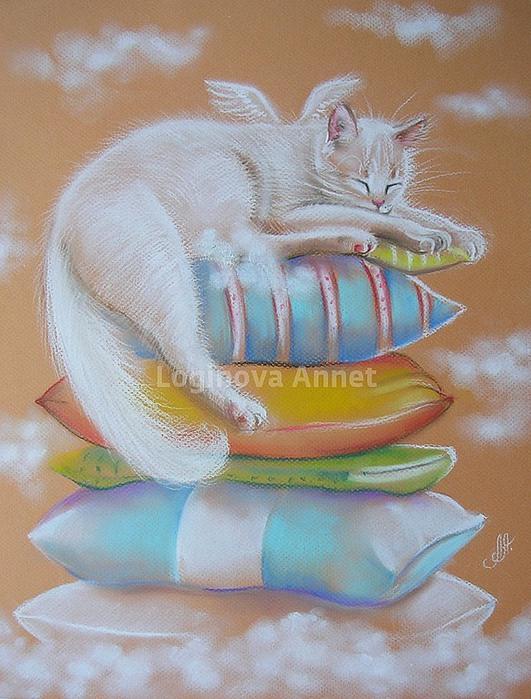 Часть 2. Мужские картинки для декупажа.  Кошки от Brigitte Nosko.
