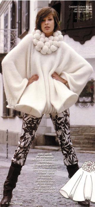 ...пончо. вязание/вяжем женщинам.  Воскресенье, 02 Октября 2011 г. 12:55.