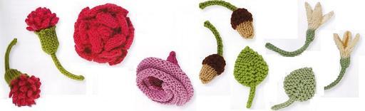 интересные схемы вязания спицами.