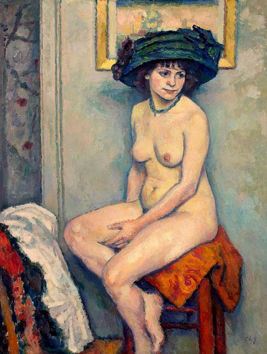 Charles Guerin . Nude 1910 (527x700, 96Kb)