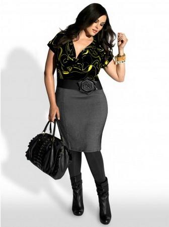 блузки для полных женщин 2012 фото.