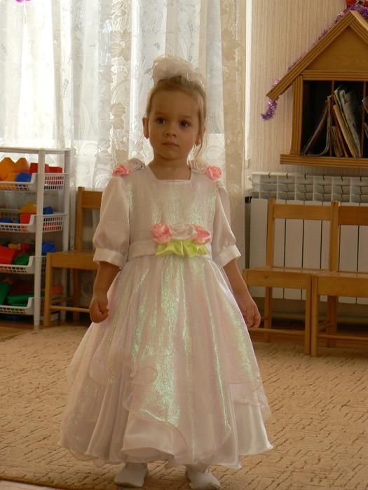 Платье на утренник своими руками