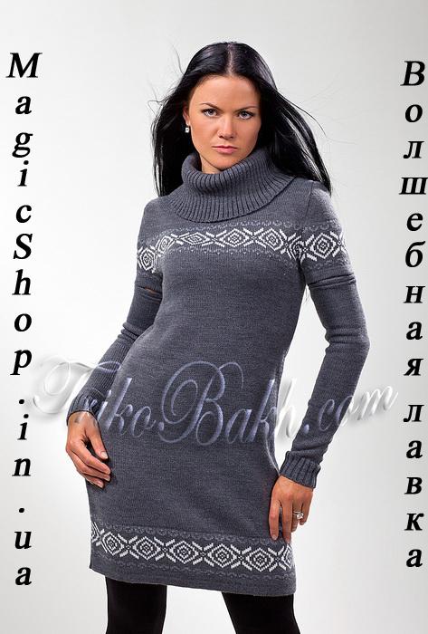 с чем носить летнее вязаное платье.