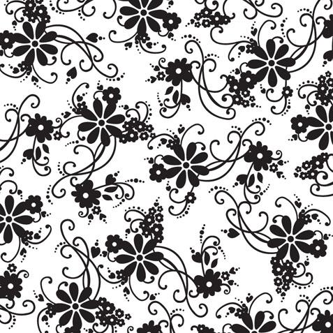 Черно белые распечатки для открыток