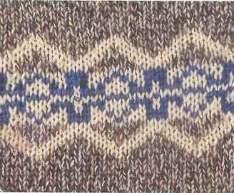 Вязание спицами для начинающих.  Вязание жаккардовых узоров.
