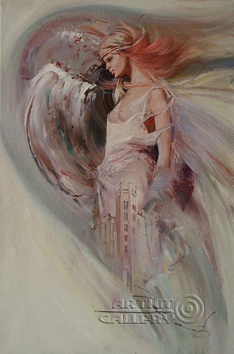 Тёплые картины Елены Капустиной.