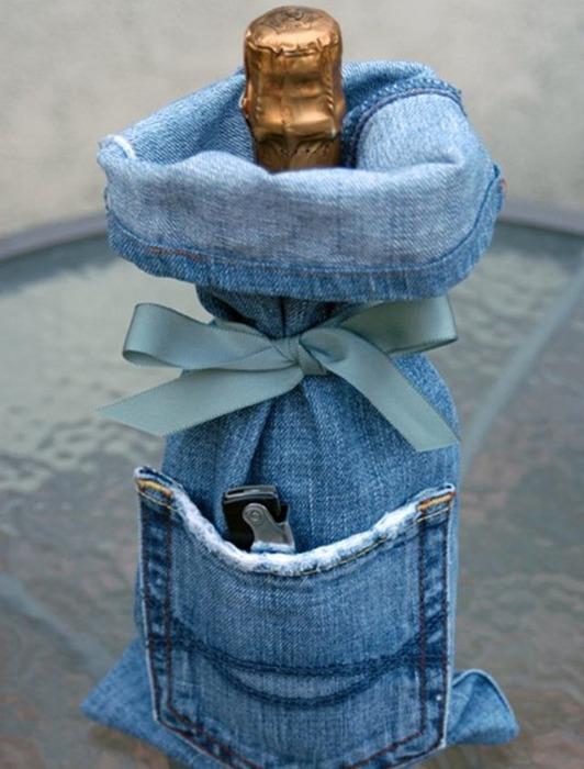 Старые джинсы - новая сумка!  Прочитать целикомВ.