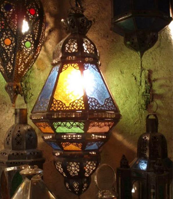 Осветитель в марокканском стиле