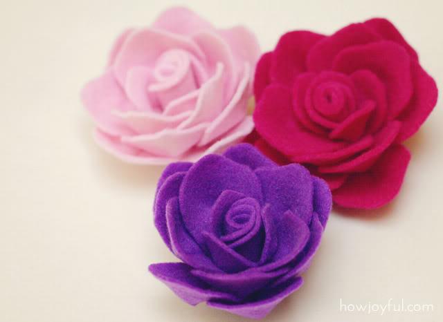Яблоневый цветок из войлока мастер класс с фото #1