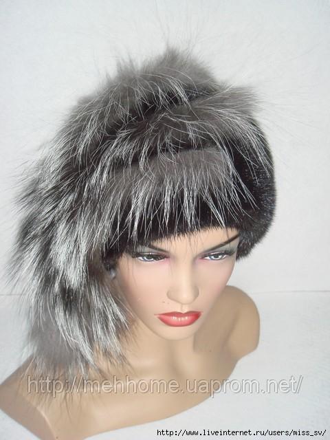 выкройка шапки из меха для девочки.