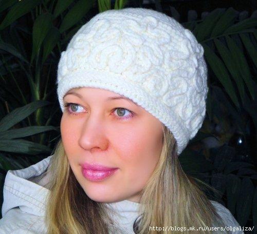 вязание зимние шапки схемы файлообменный подфорум