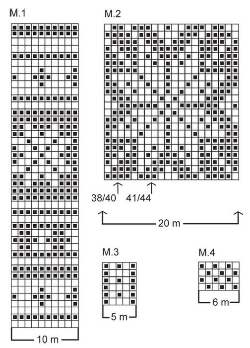 жаккардовые узоры схемы Схемы и узоры.