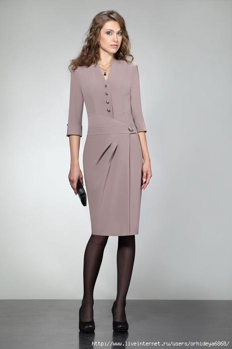Офисное платье своими руками сшить