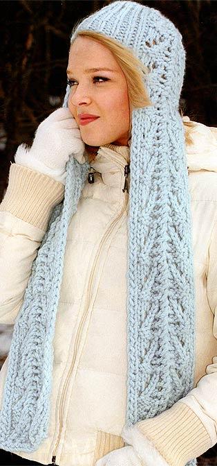 Вязаная шапка: наш ответ суровой зиме.  Вязаная шапка по праву считается...