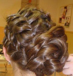 плетение косы фото 2012 года.