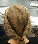 Коса Рыбий хвост или Французская коса.