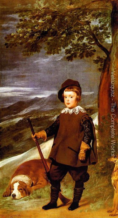 Prince Baltasar Carlos as a Hunter 1635-36 (379x700, 96Kb)
