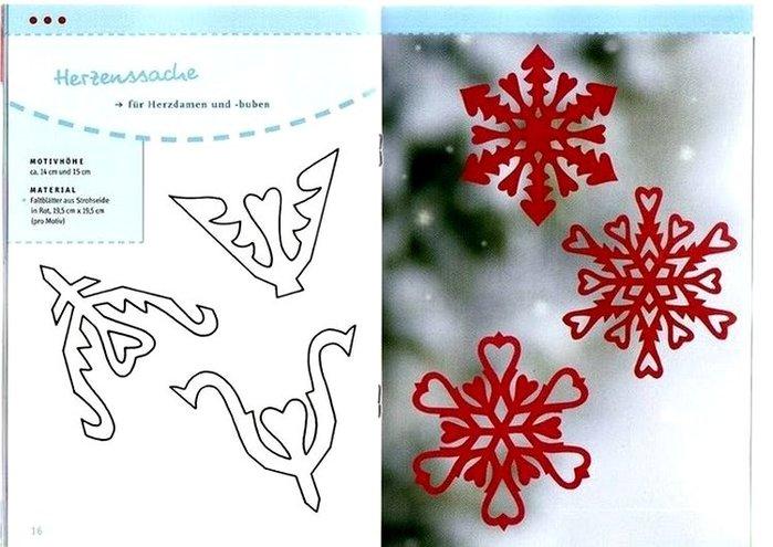 Как сделать снежинку поэтапно из бумаги. Как сделать снежинку из бумаги, схемы