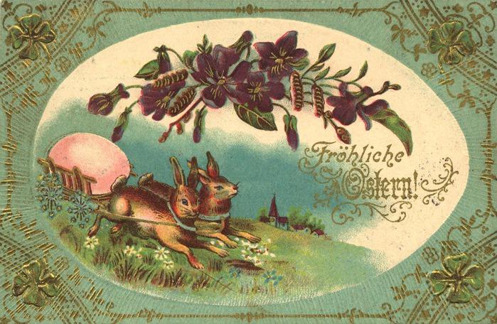 Пасхальные открытки немецкие