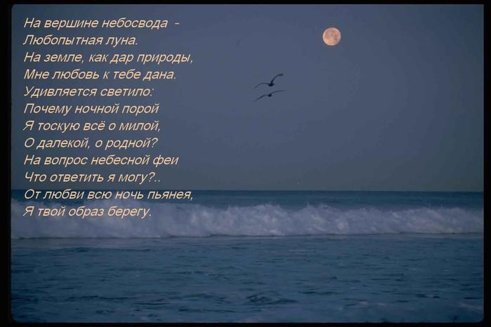 луна стихи цитаты этой статье