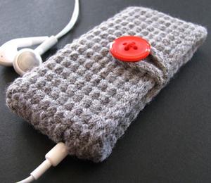 Вязание чехлов для мобильников - Master class