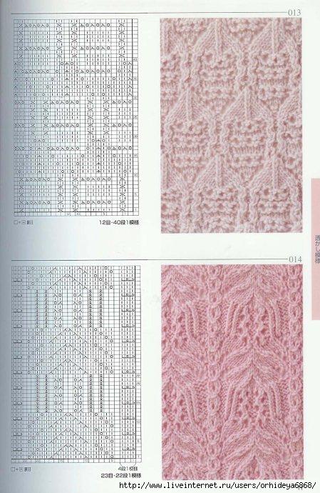 Описание: и спицами. схемы вязания.
