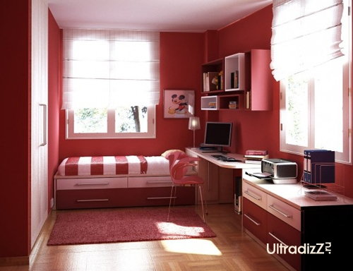 Дизайн маленьких комнат всегда доставляет дизайнерам много хлопот.