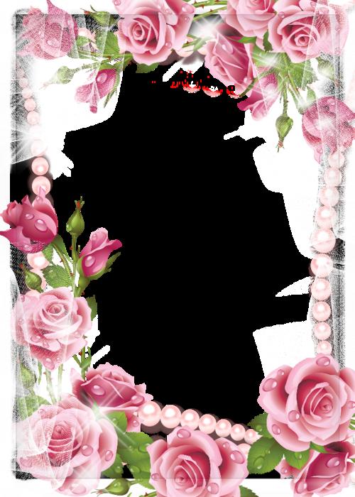 Рамку для открытки с розами, открытки