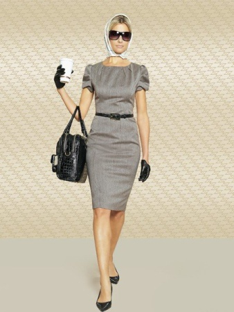 Описание: Деловой стиль одежды для женщин.