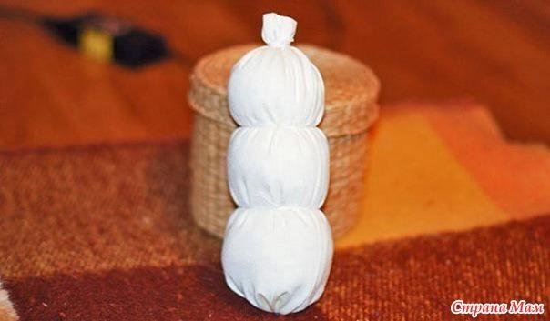 Поделки снеговик своими руками - Поделки, делаем самостоятельно