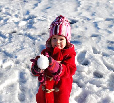 Зимние игры на свежем воздухе