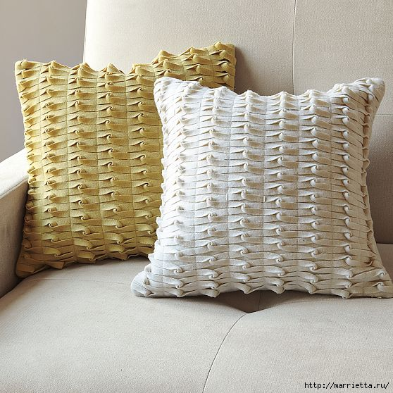 knotted felt pillow west selm (1) (558x558, 213Kb)