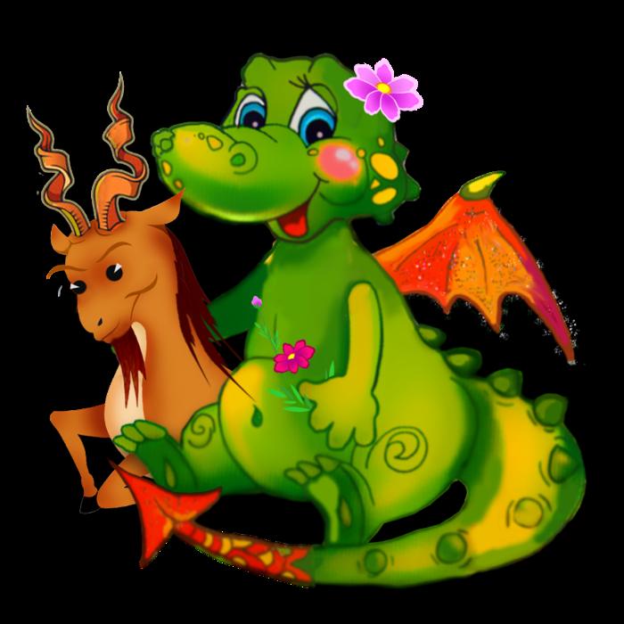 Картинка смешной дракончик, ладошки